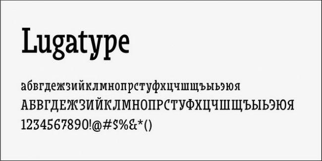 Lugatype Font