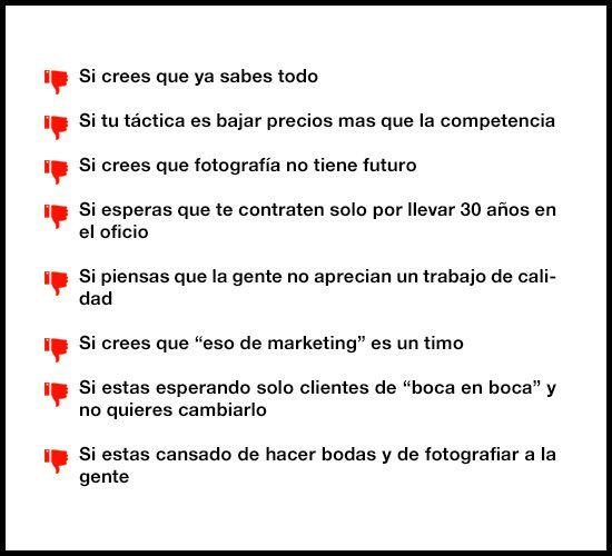 taller de marketing para fotografos