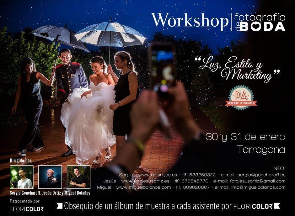 workshop para fotografos de boda luz estilo y marketing
