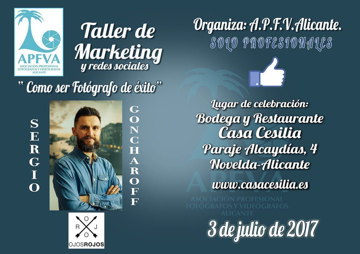 Sergio Goncharoff marketing para fotografos y videografos
