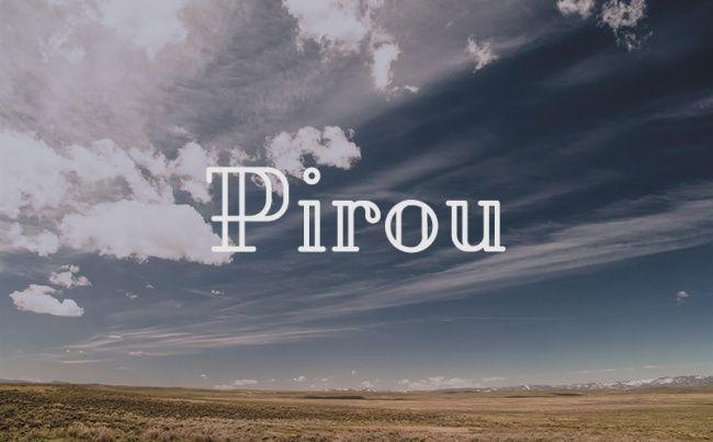 Pirou Font