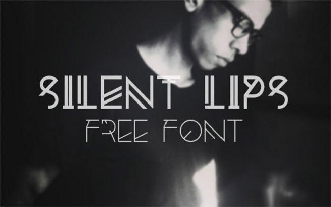 Silent Lips Font
