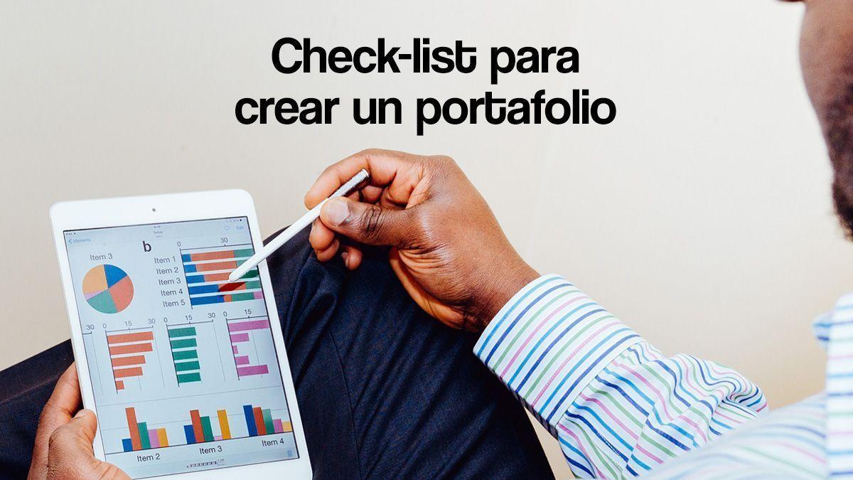 check-list para crear un portafolio