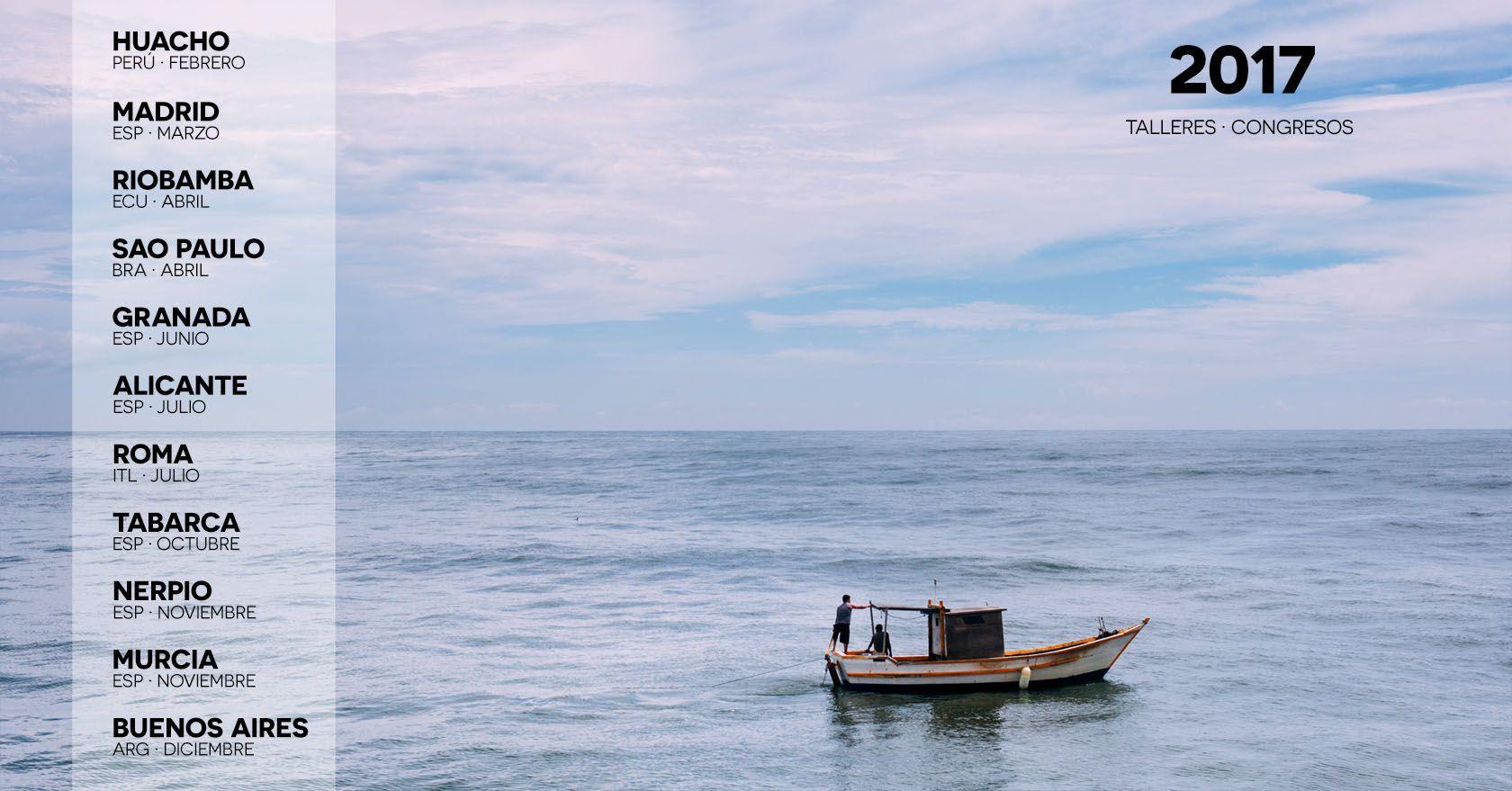 Programa de talleres de marketing para fotógrafos y videógrafos para 2017