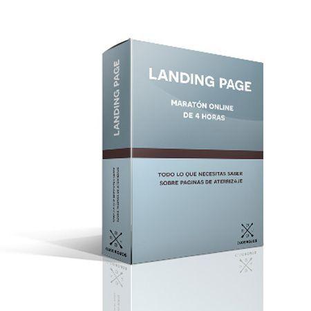 Landing Page maraton online