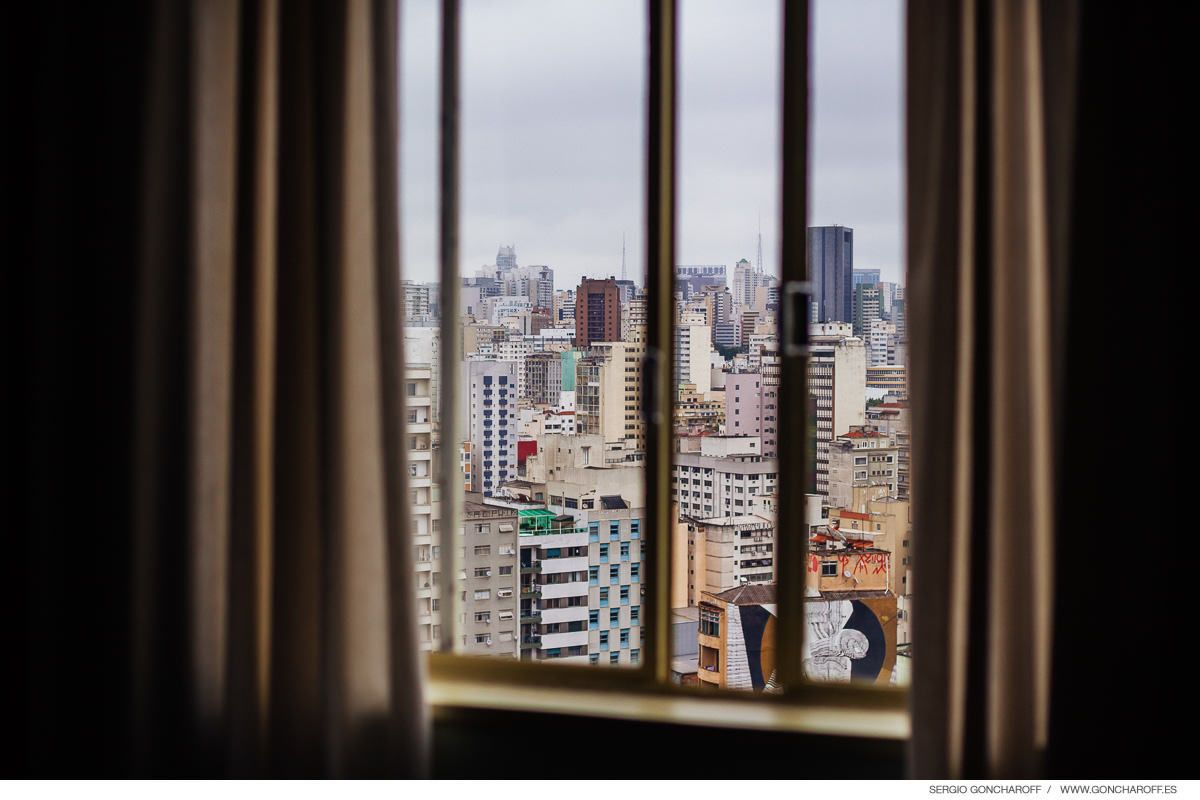 Make Movie & Wedding Brasil. Las vistas desde hotel San Rafael