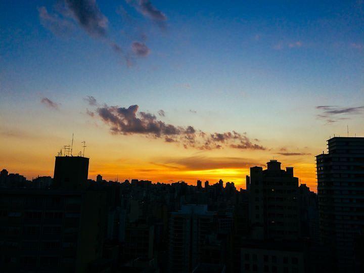 Make Movie & Wedding Brasil. Atardecer desde ventana del hotel San Rafael