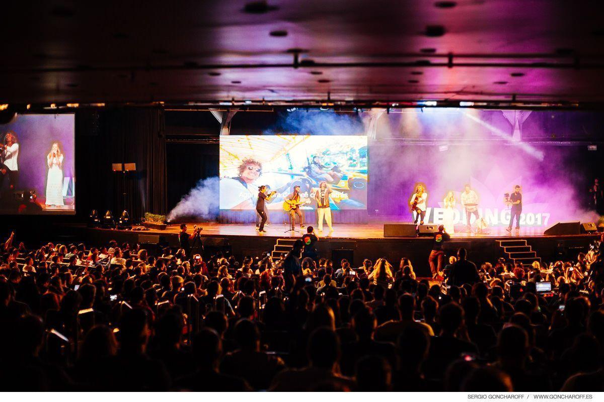 Make Movie & Wedding Brasil. Apertura del congreso en escenario principal