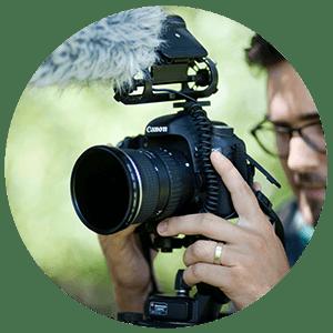 Como grabar videos de bodas