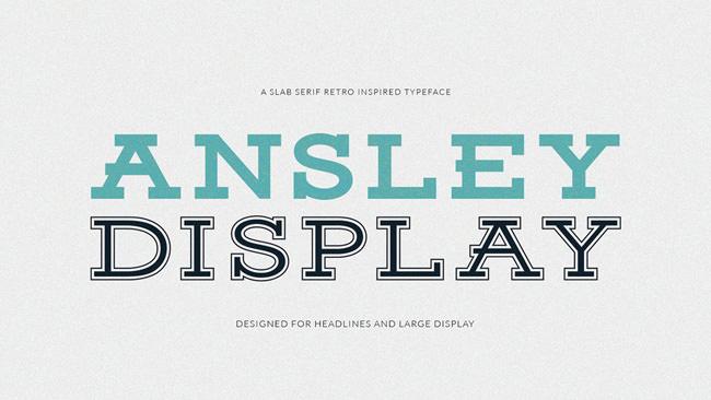 Descargar letras chulas gratis Ansley tipografia gratis