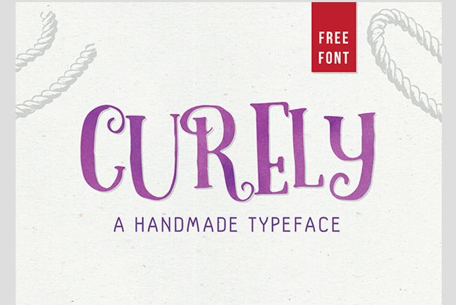 Descargar letras chulas gratis Curely tipografia gratis