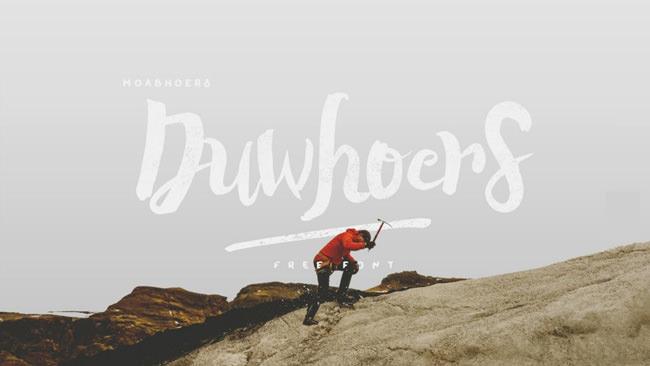 Descargar letras chulas gratis Duwhoers tipografia gratis