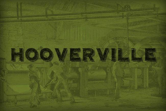 Descargar fuentes gratis Hooverville tipografia gratis