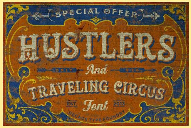 Descargar fuentes gratis Hustler Rough tipografia gratis