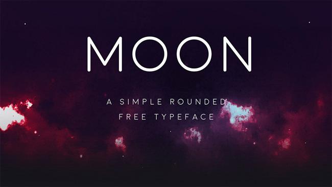 Descargar fuentes gratis Moon tipografia gratis