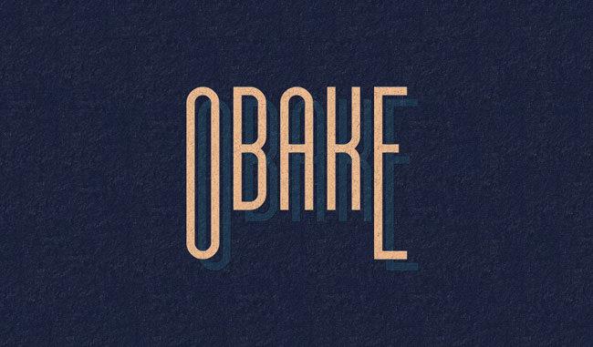 Descargar fuentes gratis Obake tipografia gratis