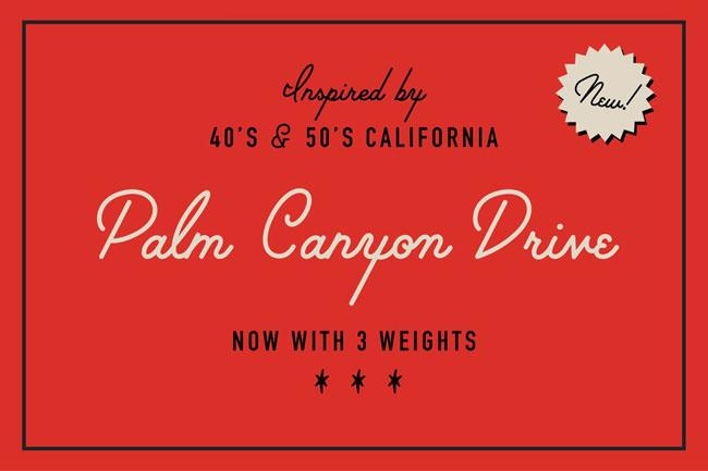 Descargar fuentes gratis Palm Canyon Drive tipografia gratis