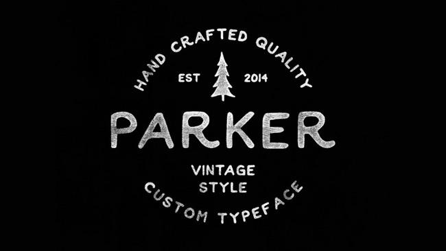 Descargar fuentes gratis Parker tipografia gratis