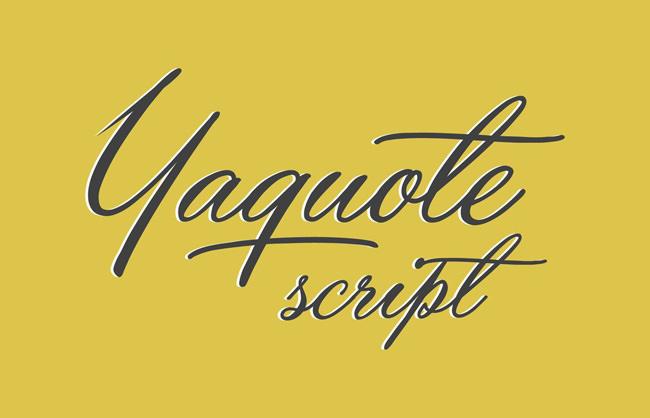 Descargar fuentes gratis Yaquote tipografia gratis